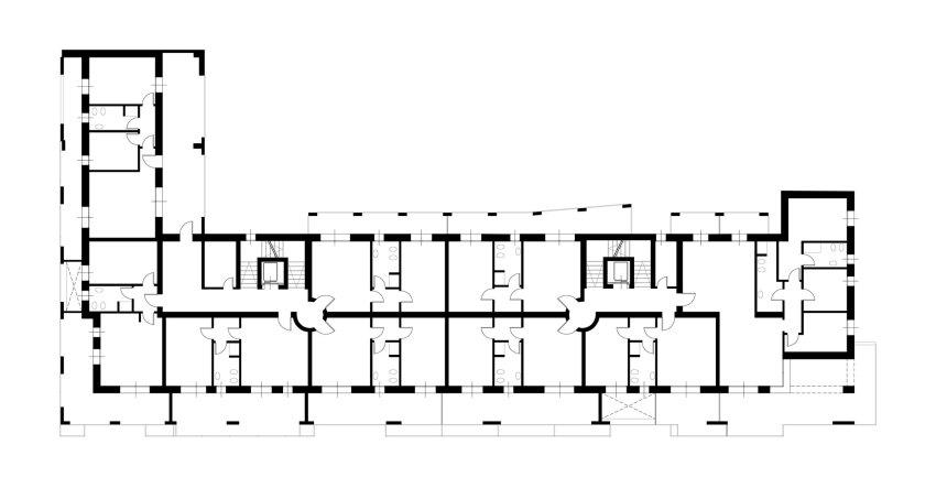 Floor Plan - Casa Tersicore / Degli Esposti Architetti