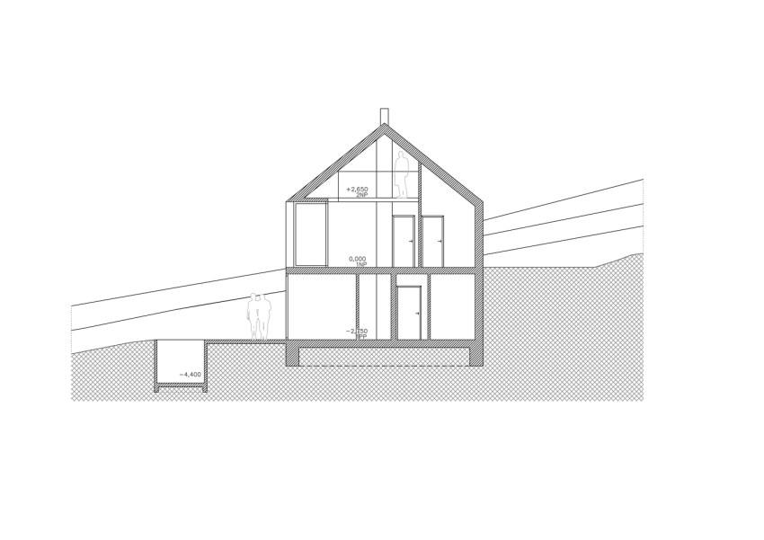 Model - House in Krkonoše / Fránek Architects