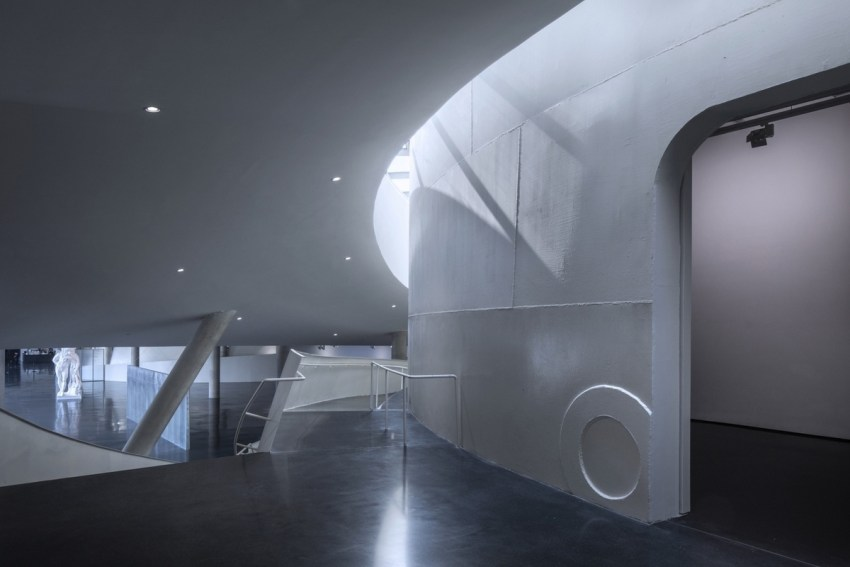 Interior of the Museum - Tank Shanghai / OPEN Architecture