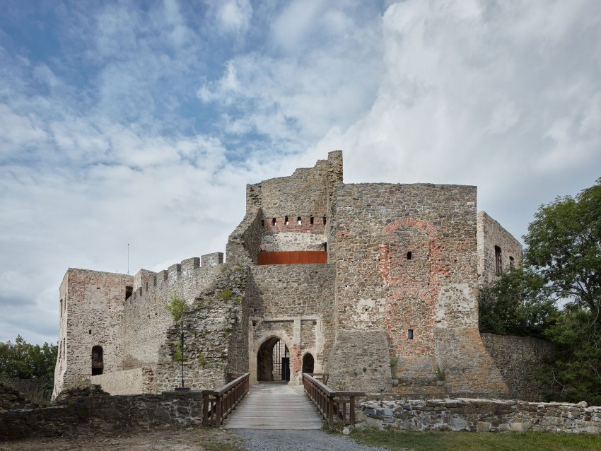 Exterior View of the castle