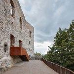 Stair - Helfštýn Castle Palace Reconstruction / Atelier-r
