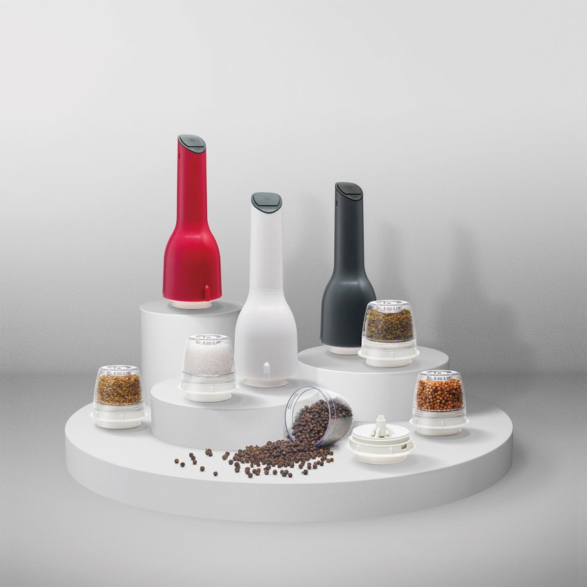 FinaMill, Smart Kitchen Mill Grind with Spice Pods by Alex Liu