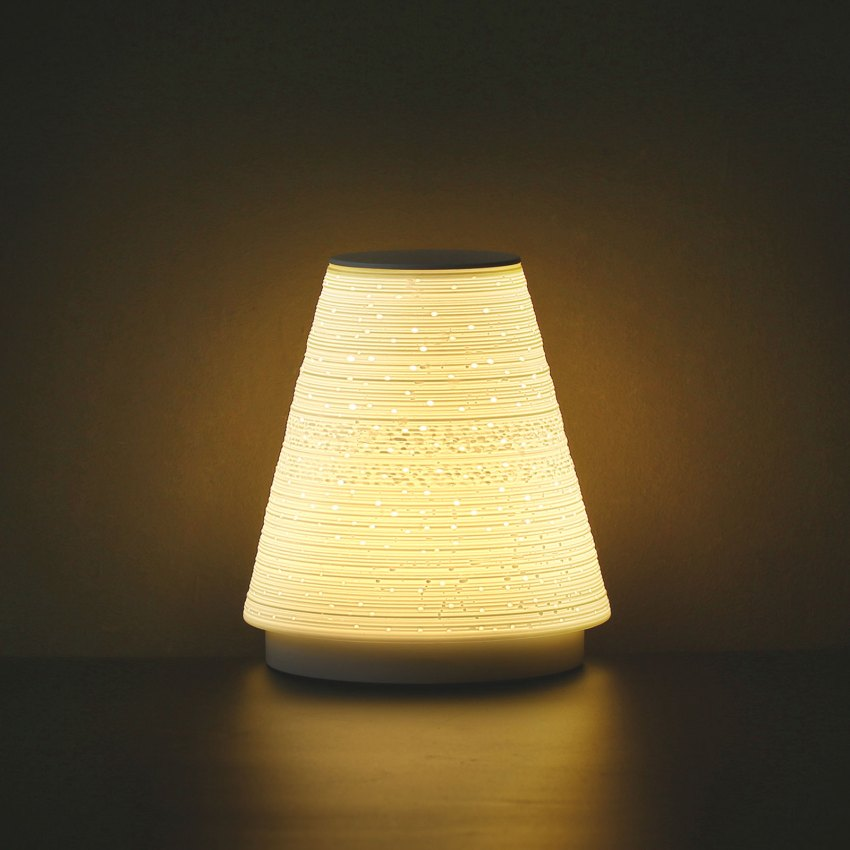 The Intelligent Eggshell Lamp by Chunlong Xiang, Yixin Bu and Wenting Wang