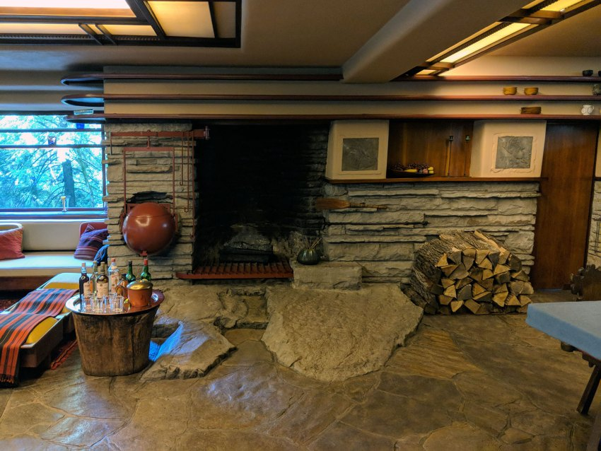 Fireplace - Fallingwater House