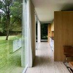 Corridor - The Farnsworth House / Mies van der Rohe