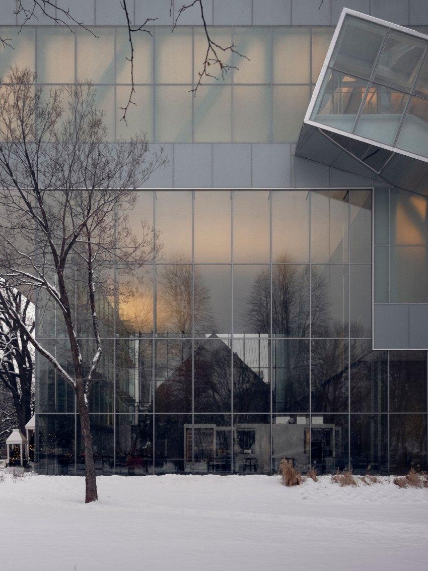 Exterior Facade - OMA's Pierre Lassonde Pavilion at MNBAQ