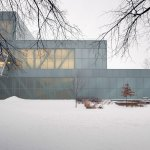 Exterior View - OMA's Pierre Lassonde Pavilion at MNBAQ