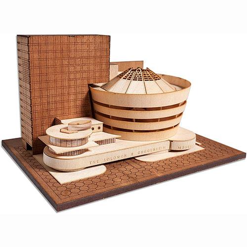 Guggenheim Museum Scale Replica