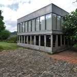 Exterior View - Upper Lawn Solar Pavilion Folly / Alison & Peter Smithson