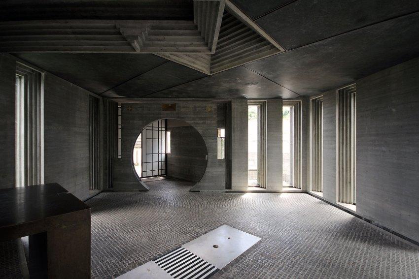 Brion Cemetery Sanctuary Carlo Scarpa ArchEyes trevor patt interior