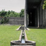 Water Feature at Brion Cemetery Sanctuary by Carlo Scarpa