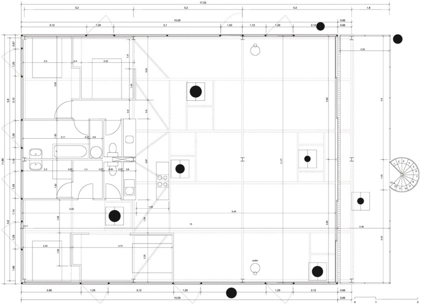 Cap Ferret House LACATON VASSAL floor plan