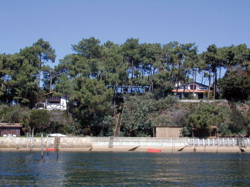 View from the beach - House in the Pines Cap Ferret House LACATON VASSAL