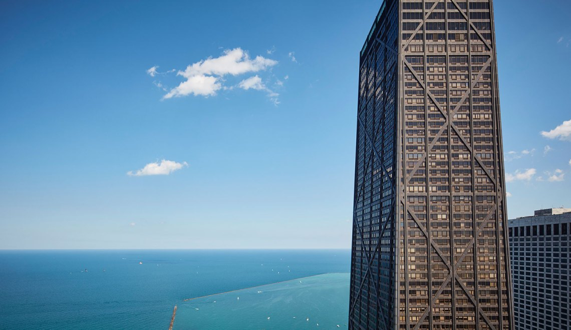 Exterior View - John Hancock Center at 875 North Michigan Avenue / Skidmore, Owings, and Merrill