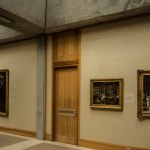 Door detail - Yale Center for British Art / Louis Kahn