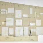 Detail Drawing of the chapelle notre dame du haut mur