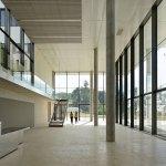 The Campus Plateau de Paris Saclay Dietmar Feichtinger Architectes Access Hall DFA D Boureau