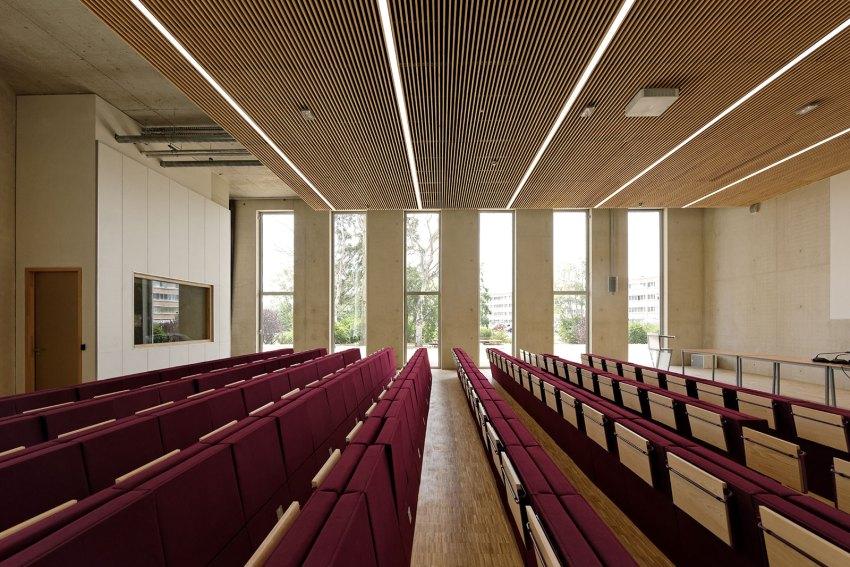 The Campus Plateau de Paris Saclay Dietmar Feichtinger Architectes Auditorium DFA D Boureau