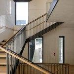 The Campus Plateau de Paris Saclay Dietmar Feichtinger Architectes Staircase DFA D Boureau
