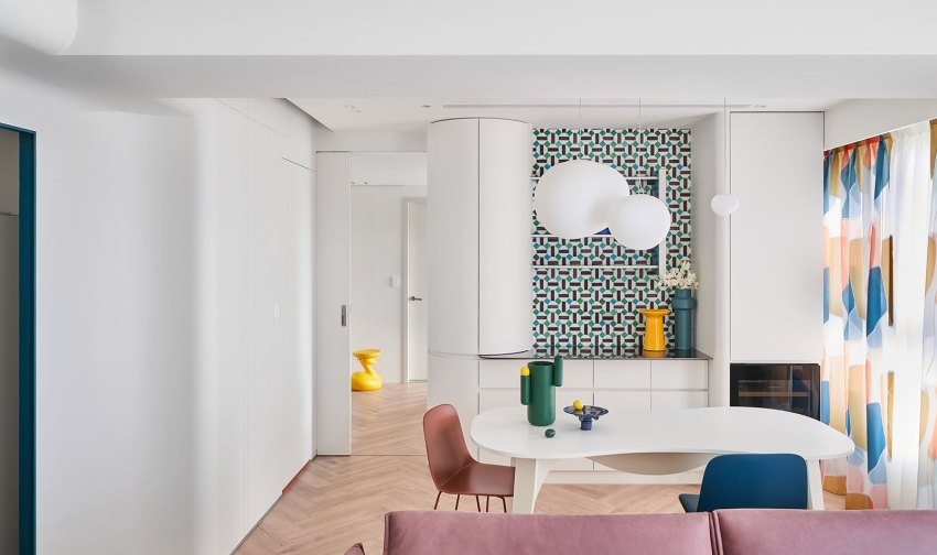 Tinker Patches Residential Interior Design byHsin-Ting Weng