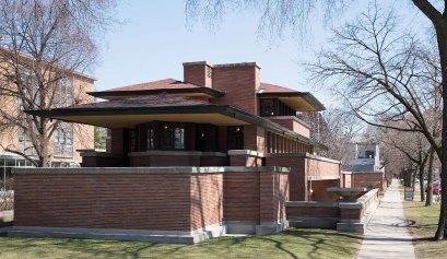 Frank Lloyd Wright Robie House ocean yamaha