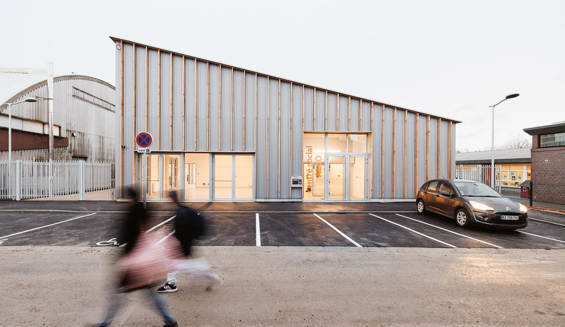 Grow Community Center in Amiens / overcode
