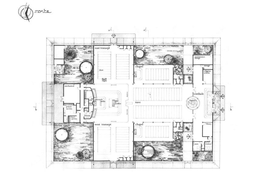St Theresa Catholic Church William Cody floor plan