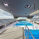 Zaha Hadid London Aquatics Centre ©HuftonCrow