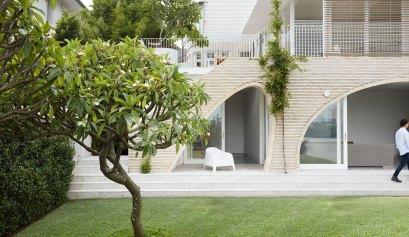 luigi rosselli architects arch texture