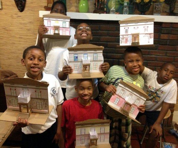 Dream house building party