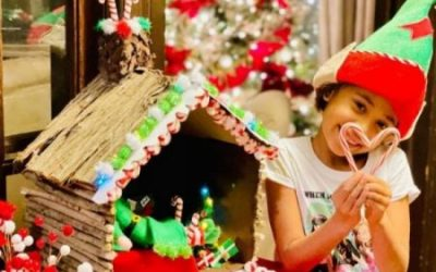 Holiday Elf Houses – Kids Embrace Creativity and the Holiday Spirit in a Recent Virtual Workshop