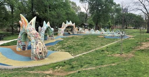 Nashville Public Art Dragon Sculpture