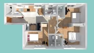 Rénovation d'un appartement à Saint-Nazaire