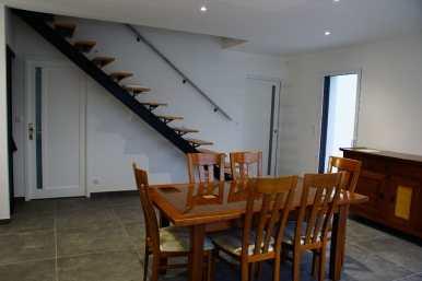 Escalier et Salle à manger