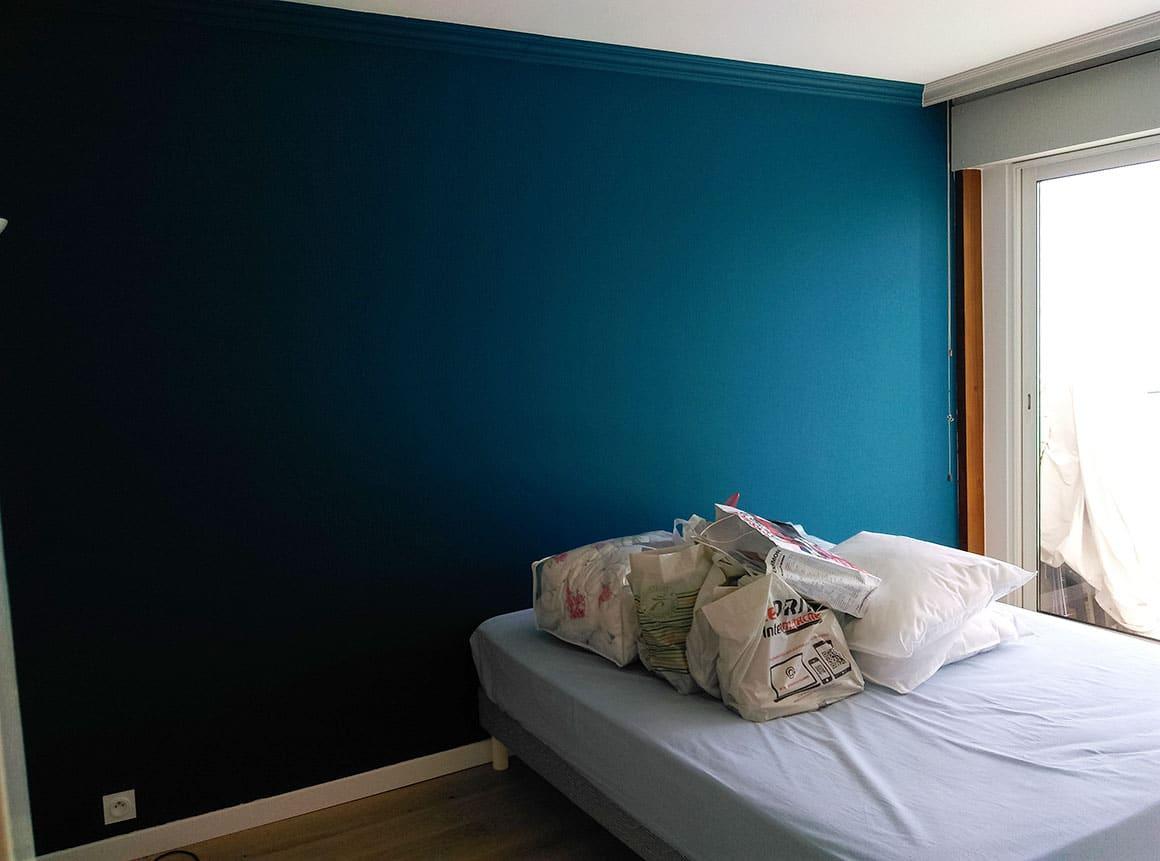 Mise en couleur chambre