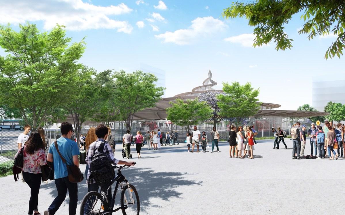 Gare de Noisy-Champs - image du concours @ Architecte Jean-Marie Duthilleul