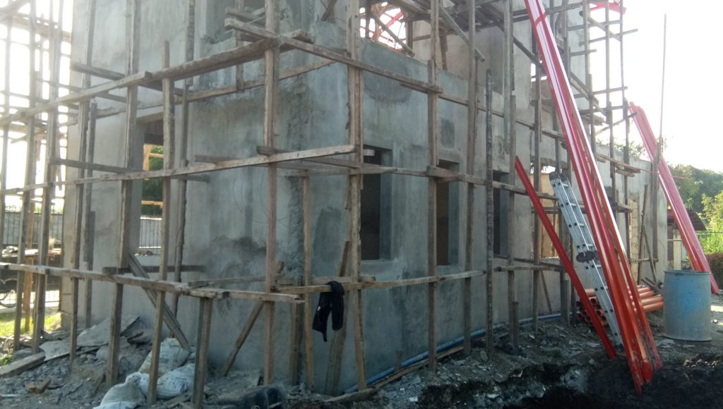 Ongoing Construction Work Residential commercial building house bacolod iloilo (2)