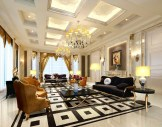 Living-room-ceiling-and-floor-interior-style