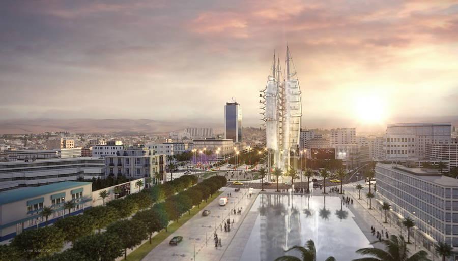 une-tour-pour-symboliser-la-evolution-tunisienne-1