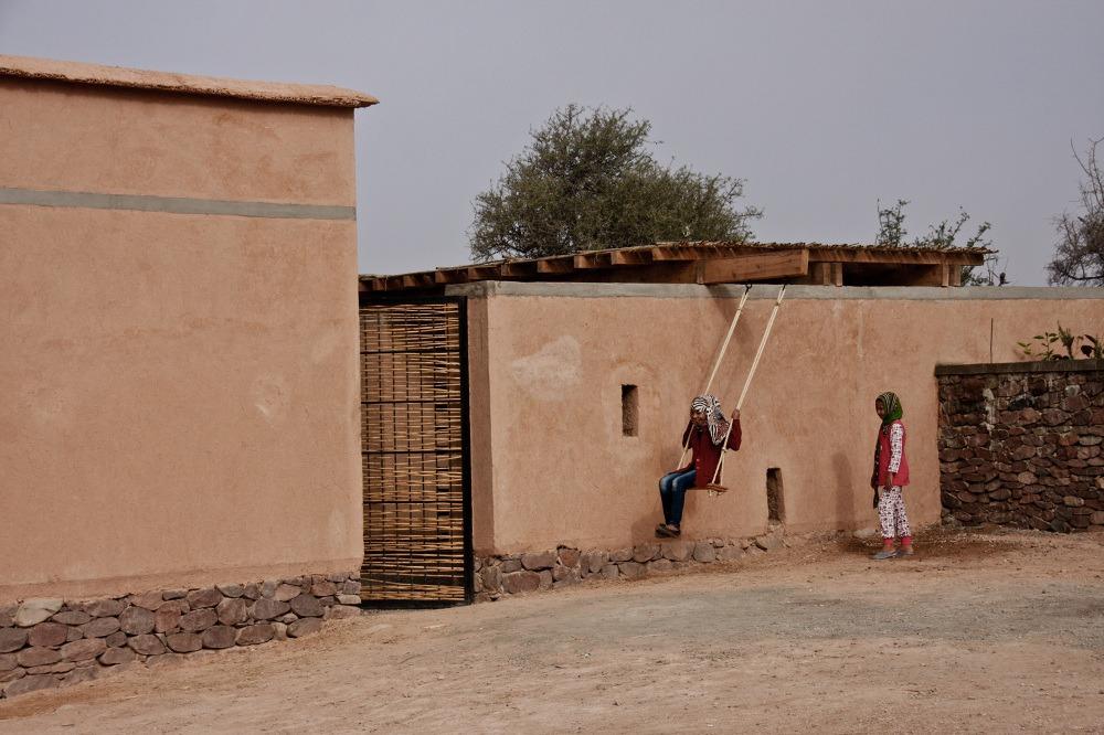 maroc-agadir- lecole-maternelle- bioclimatique-du- village-daknaibich (3)