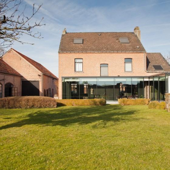 Woning Mechelen - nieuwbouw uitbreiding - renovatie
