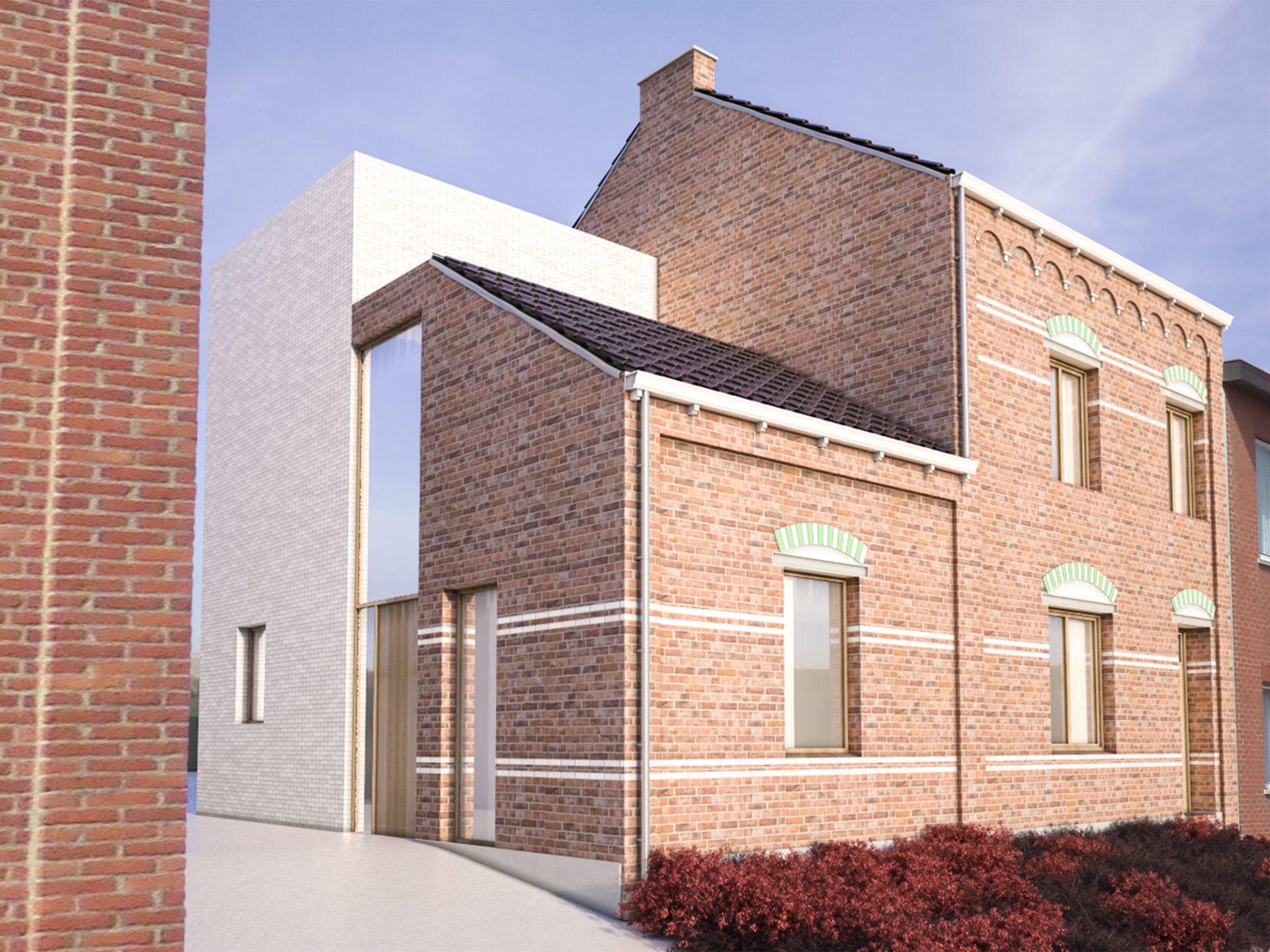 Woning Diepenbeek - nieuwbouw en renovatie