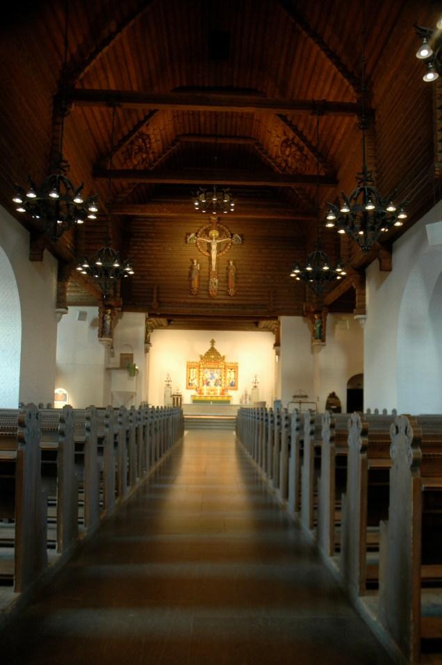 Översikt Långhuset, Masthuggskyrkan