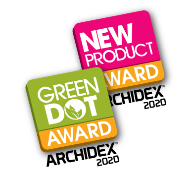 New Product Award & Green Dot Award ARCHIDEX 2020