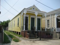 The New Orleans Shotgun House
