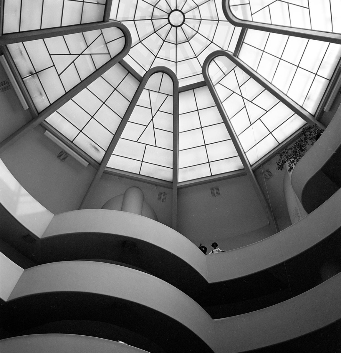 Guggenheim Museum. Ruth and Rick Meghiddo, 1971. All Rights Reserved.