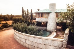 Gladys and David Wright Residence. Ruth and Rick Meghiddo, 1971. All Rights Reserved.