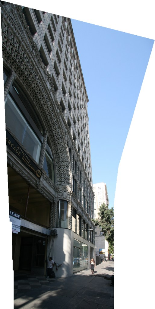 Downtown Los Angeles.Copyright Ruth and Rick Meghiddo, 2013. All Rights Reserved.