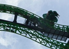 Six Flags Mountain Roller Coaster. Ruth and Rick Meghiddo, 2014. All Rights Reserved.
