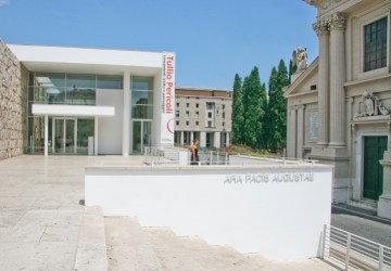 Ara Pacis Museum. Copyright Ruth and Rick Meghiddo, 2010. All Rights Reserved.